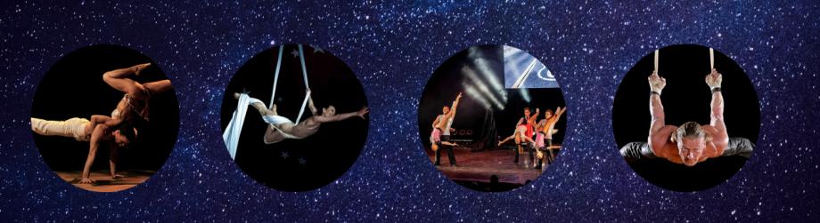 Dance and Circus Events Soirées à thème